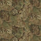 Детская ткань (Карта мира)